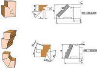 Фреза для углового сращивания древесины