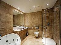 Травертин для ванной комнаты