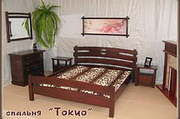 """Кровать """"Токио"""". Массив - ольха. 92"""