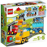 Конструктор LEGO DUPLO Мои первые машины и грузовики (10816)