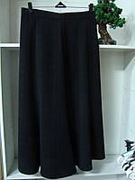 Женская длинная юбка годе черного цвета, фото 1