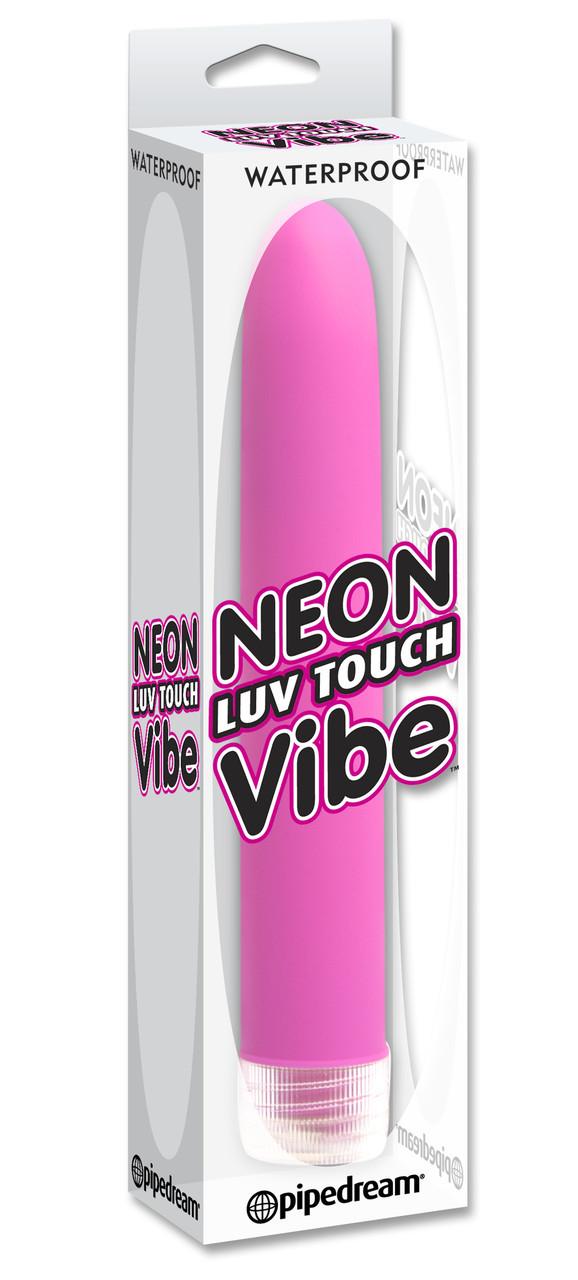 Вибратор гладкий для женщин Neon Luv Touch Vibe Pink
