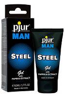 Крем Pjur с возбуждающим эффектом для мужчин Man Steel Gel 50 ml