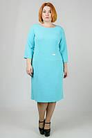 Свободное платье большого размера в расцветках a-3015941