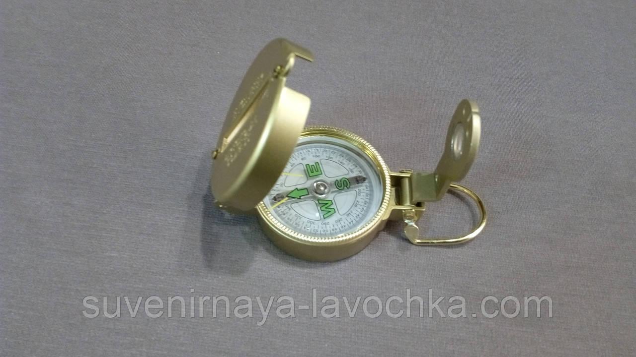 КОМПАС TSC-4, компас золотого цвета, с металлического сплава