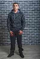 Штаны мужские спортивные утепленные темно-серые