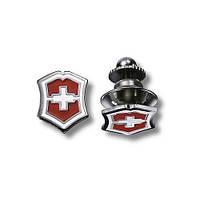 """Значок """"Swiss emblem"""" красный"""