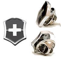 """Значок """"Swiss emblem"""" черный"""