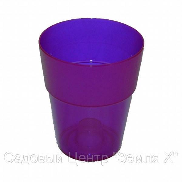 Кашпо, доставка из Одессы коло, 135 мм, фиолетовый