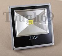 LED Прожектор светодиодный 30Вт 220В тепло - белый, фото 1