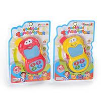 Детская игрушка телефон Веселий телефончик  ZYE-E 0070
