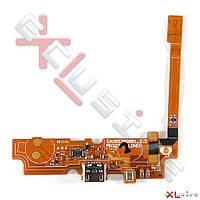 Шлейф LG D320 Optimus L70 \ D325 Optimus L70 Dual Sim \ MS323 Optimus L70 с коннектором зарядки, микрофоном