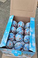 Яйцо шоколадное С новым годом 24 шт, 25 гр, фото 1