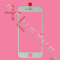 Стекло с рамкой и пленкой OCA iPhone 6 White