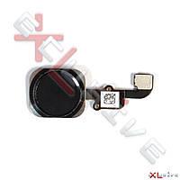 Шлейф iPhone 6 с кнопкой Home и Touch ID Black