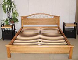 """Кровать """"Фантазия - 2"""". Массив - ольха. 2"""