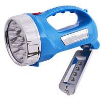 Аккумуляторный фонарь Yajia YJ-2804, ручной мощный фонарь прожектор