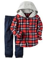 Теплый детский костюм для мальчиков Carters 2 года