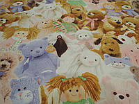 Комплект постельного белья Мягкие игрушки
