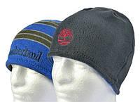 Качественная двусторонняя шапка TIMBERLAND. Мужская зимняя шапка. Универсальный размер. Код: КБН152
