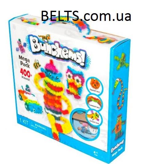 Конструктор - липучка Bunchems (игрушка для детей Банчемс 400 предметов)