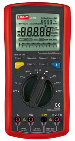 Мультиметр цифровой многофункциональный UNI-T UT-70C