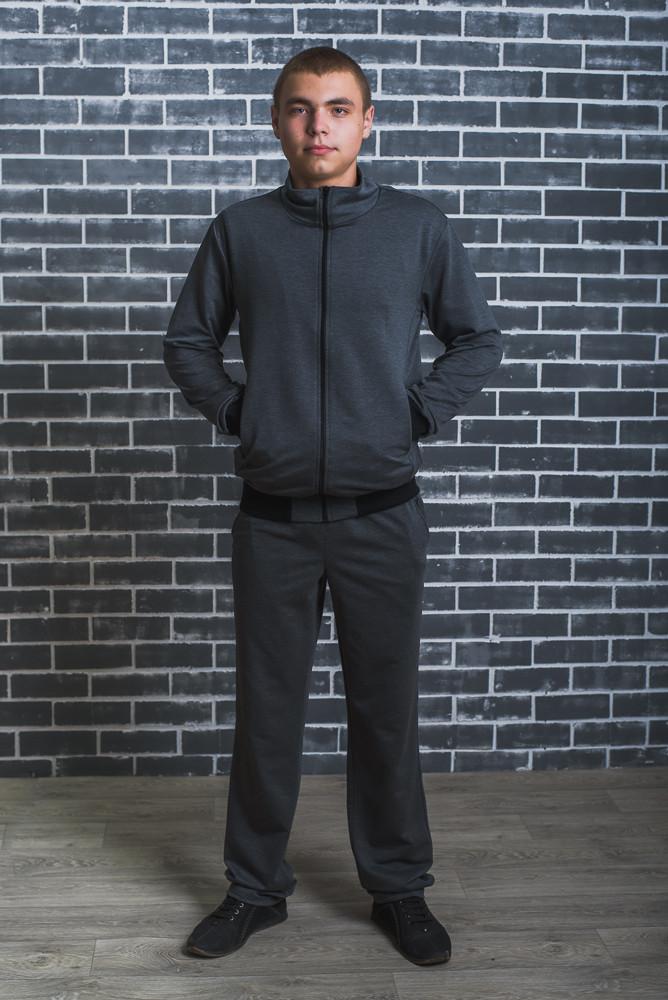 Спортивный мужской костюм темно-серый