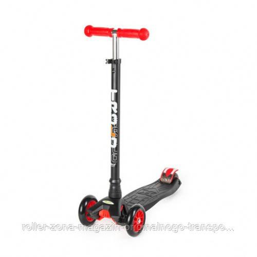 Самокат Trolo Maxi (black-red)