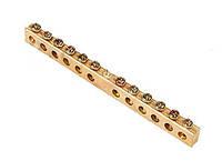 Шины заземления 6,5 х 9 мм (80А)