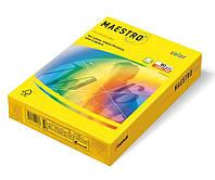 Бумага А4 Maestro Color Neon Neogb, (желтый)