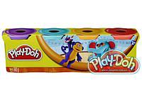 """Набор пластилина Плей-Дох из 4х банок по 140гр. """"Африка"""" Play-Doh"""