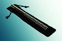 Ручка-куботан в латунном корпусе под бамбук