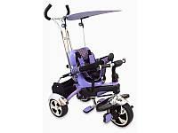 Велосипед 3-х колесный детский Baby Mix фиолетовый
