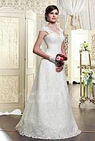 Свадебное платье с гипюра А - силуэт
