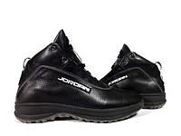Ботинки Nike Jordan мужские осенние, зимние. Черные, фото 1