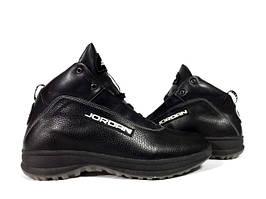 Ботинки Nike Jordan мужские осенние, зимние. Черные
