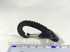 Карабин крючок пластик 25 мм, фото 3