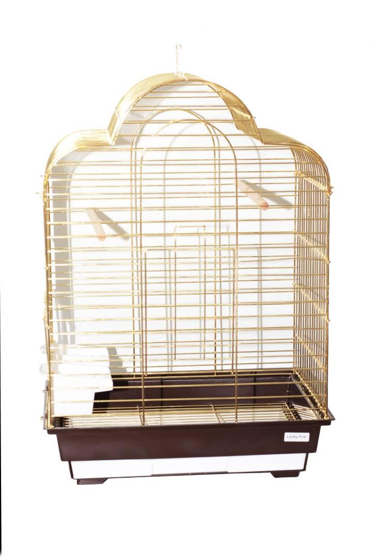 Клетка для птиц Fox Tulip, золотая