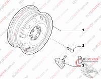 Диск колесный железный R15 6Jx15 H2 Fiat Ducato 250 (2006-……) 1374080080