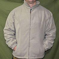 Флисовый утеплитель (кофта), светло-серый. НОВЫЙ. Reis, Польша, фото 1