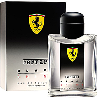 Мужская туалетная вода Ferrari Black Shine for Men (свежий, цитрусовый аромат)  AAT