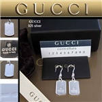 Серьги Gucci 113