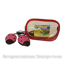 """Сушилка для обуви электрическая """"Солнышко"""" цвет розовый с черным"""