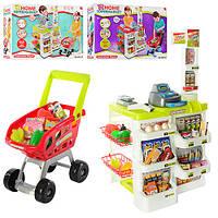 Магазин  игровой набор 668-01 Супермаркет с тележкой и продуктами