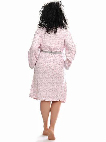 Женский велюровый халатик , фото 2