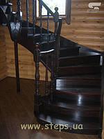 Лестница в дом Харьков (Дуб)