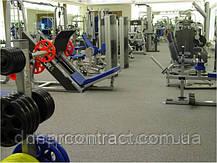 Резиновая плитка для спортзала 25 мм 98/2, фото 2