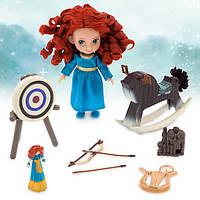 Кукла Мерида набор Disney Animators' Collection Merida Mini Doll Play Set - 5''