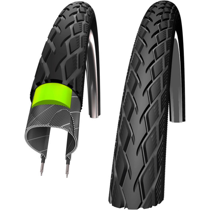 Велопокрышка Schwalbe Marathon Performance GreenGuard 26х1,50