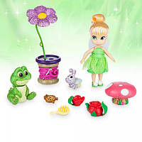 Набор кукла Disney Animators' Collection Tinker Bell Mini Doll Play Set - 5''